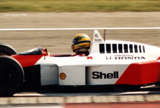 Senna by the author 1988