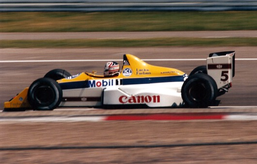 Nigel Mansell German GP 1988 photo by author