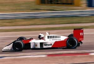 Alain Prost Mclaren 1988 German Grand Prix