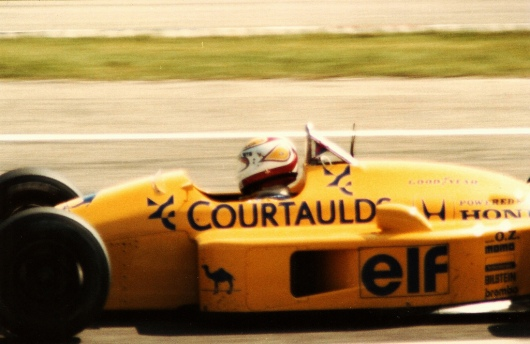 nelson Piquet Lotus 1988 German Grand Prix