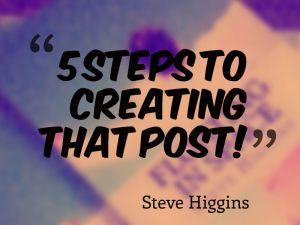 creatingthatpost
