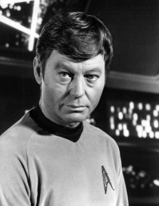 Dr McCoy Star Trek