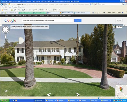 Lana Turner Hollywood Home