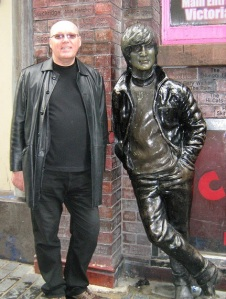 John Lennon and me . .