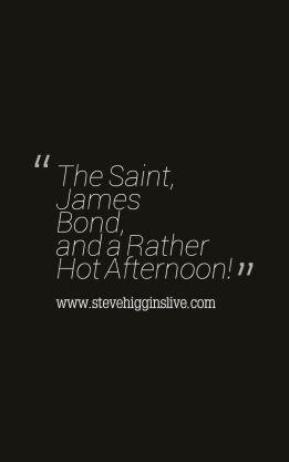 The Saint and James Bond