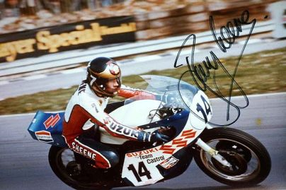 Barry Sheene. Photo courtesy Wikipedia