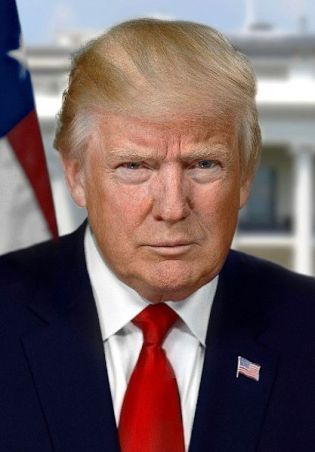 Donald Trump. Picture courtesy Wikipedia